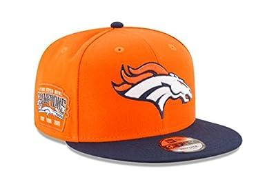 Denver Broncos Victory Side 9FIFTY Adjustable Snapback Hat / Cap by New Era