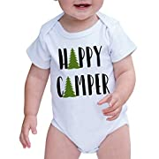 7 ate 9 Apparel Baby's Happy Camper Outdoors Onepiece 3-6 Months