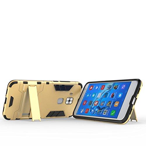 SRY-Conjuntos de teléfonos móviles de Huawei 2 en 1 caja fresca a prueba de choques del teléfono de la contraportada para Huawei Maimang 5 Proteja completamente el teléfono ( Color : Blue , Size : Hua Gold