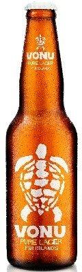 ヴォヌ ピュアラガー(Vonu Pure Lager) 330ml×24本yu fiji beer フィジービール  ケース重量:13.6kg  B0091MU9PE