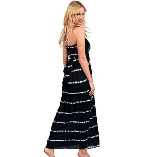 75b3188fee4 Ingear Maxi Dress Long Tie Dye Fashion Summer Casual Dress Beachwear  delicate