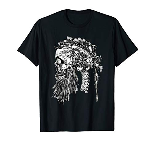 (Brothers of the North Viking Skull of Weapons T-Shirt)