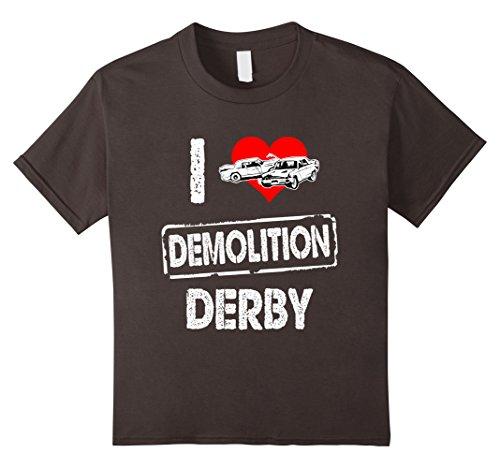 unisex-child I Love Demolition Derby T-Shirt - Demolition...