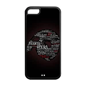 Custom Printed Hard Snap-On Back Case for iphone 5C(Cheap iphone 5)- Musical Phantom of The Opera -2