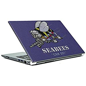 Skinit Seabees Can Do Portege Z30t/Z30t-A Skin - Officially Licensed US Navy Laptop Decal - Ultra Thin, Lightweight Vinyl Decal Protection from Skinit