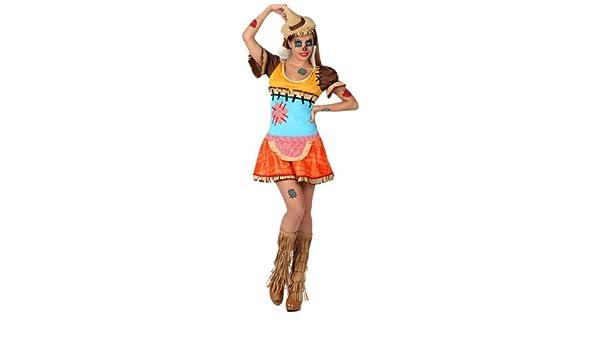 Atosa Disfraz mujer espantapájaros XS-S 16459: Amazon.es: Juguetes y juegos
