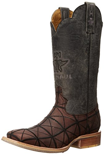 Picture of Tin Haul Shoes Men's Derrick Work Boot, Brown, 8 D US