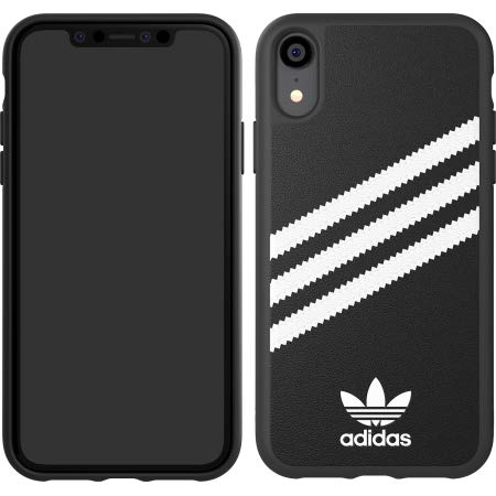 31b7756141d07 SHOPUS | Adidas Samba Case Compatible for iPhone XR in Black/White