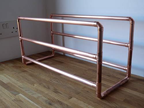 Copper wine rack 12 bottles