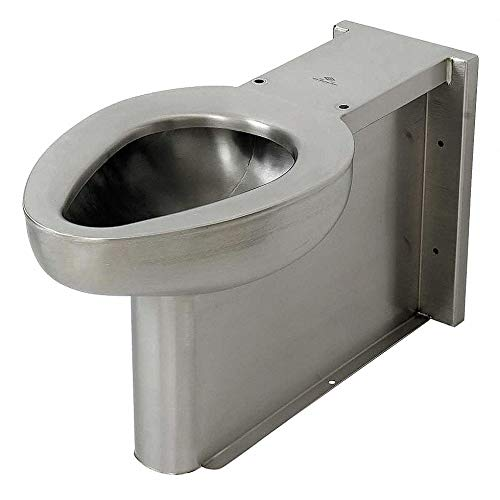 (Toilet, Floor, Satin, Stainless Steel)