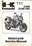 2007 KAWASAKI MOTORCYCLE Z1000 ABS P/N 99924-1380-01 SERVICE MANUAL (938)