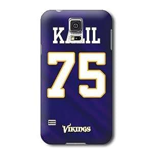 S5 Case, NFL - Matt Kalil Minnesota Vikings - Samsung Galaxy S5 Case - High Quality PC Case