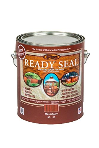 Ready Seal 125 1 Gallon Can Dark Walnut Exterior Wood Stain And Sealer