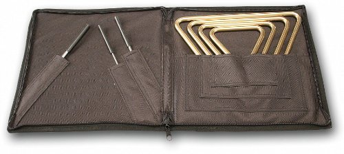 Sabian Triangles 61140R Regular Triangle and Striker Set with Attached Case