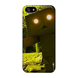 Lauragroff03 Iphone 5/5s Hybrid Tpu Case Cover Silicon Bumper Looming Boxbot