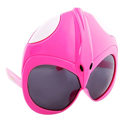 Sunstaches Mighty Morphin' Power Rangers Pink Power Ranger Sunglasses, Party Favors, UV400 -