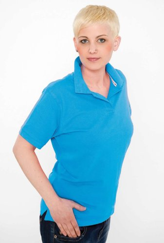 SLAZENGER Fore main Ladies 'Polo Sports Grey (Heather)