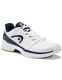 HEAD Sprint Pro 2.5 - Zapatillas de Tenis para Hombre, Color Blanco y Azul Oscuro