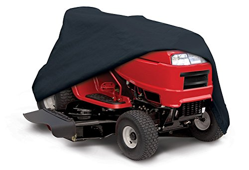 Wogoboo Universal Lawn Tractor Riding Mower 210D Oxford Cloth Waterproof UV Lawn Mower Cover For Yard Garden (L-96.4''x19.6''x55.1'') by Wogoboo