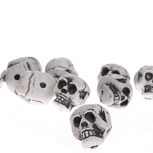 Factory Direct Craft Package of 36 Miniature Skeleton Skulls for Halloween Party Decor, Crafting and (Skeleton Halloween Crafts)