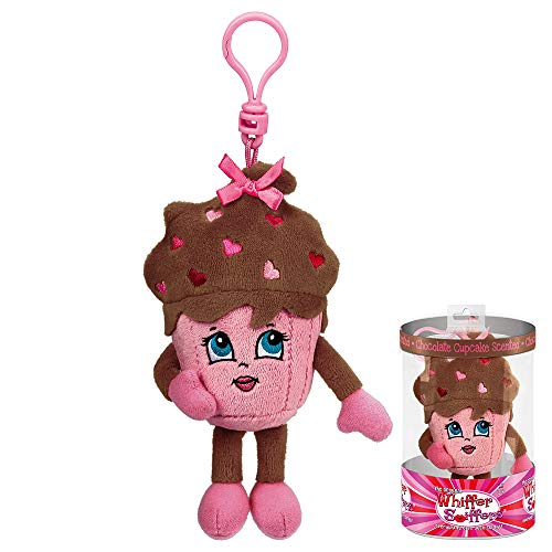- Whiffer Sniffers Shirley Sweet Chocolate Cupcake Scented Valentine's Day Backpack Clip