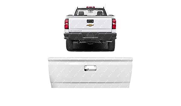 NEW *Painted 8624 White* Tailgate Shell for 1999-2006 Chevy Silverado GMC Sierra