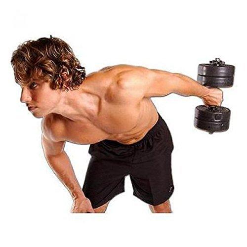 NEW Golds Gym 40 Lb Vinyl Dumbbell Set Weight Adjustable Hand Weights Dumbbells
