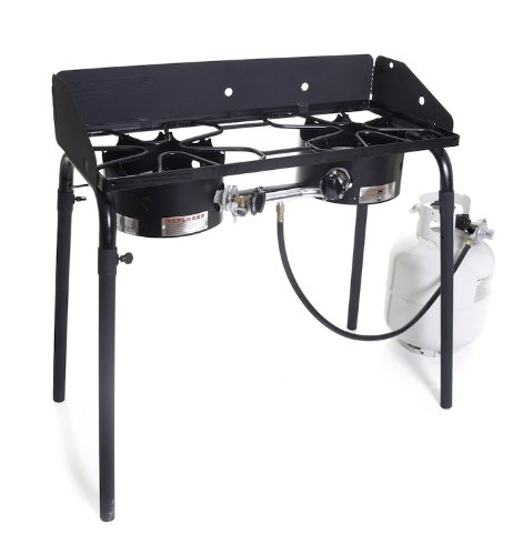 Camp Chef Explorer Double Burner Stove best camp stoves