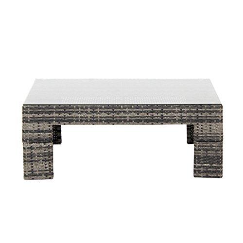 Scarlett Outdoor Coffee Table Dark Gray See Below