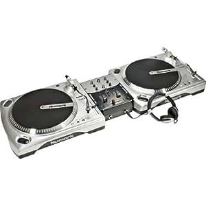 numark beginner dj turntable package musical instruments. Black Bedroom Furniture Sets. Home Design Ideas