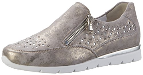 Semler Damen Nelly Sneakers Beige (panna-silber)