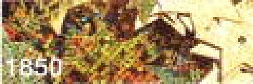 Gutermann Hologram Star Shaped Sequins 1850 Gold - per pack