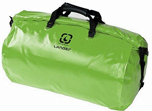 grün 70 Liter Wassersporttasche Rolldown mit Wickelverschluss von Langer Packsack Packtasche wasserfest