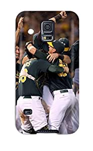 Hot 8141427K756924669 oakland athletics MLB Sports & Colleges best Samsung Galaxy S5 cases