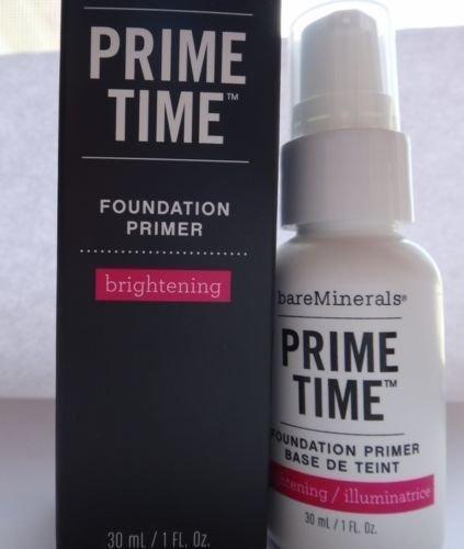 Bare Escentuals BareMinerals foundation Prime Time Brightening Primer NEW 30ml (1oz) by Bare Escentuals