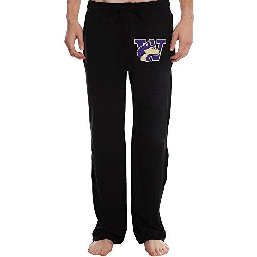 PTR Men's University of Washington Sweatpants Color Black