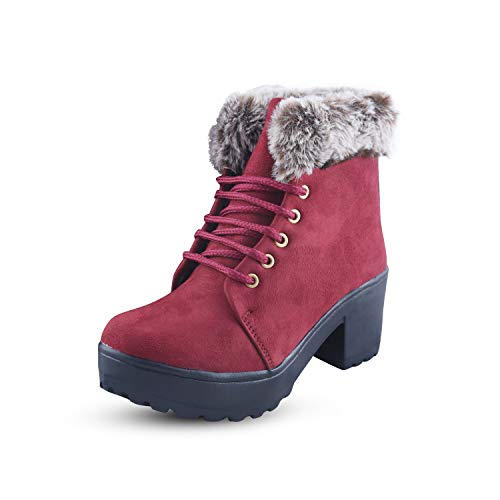 FASHIMO Stylish Furr Boots For Women And Girls
