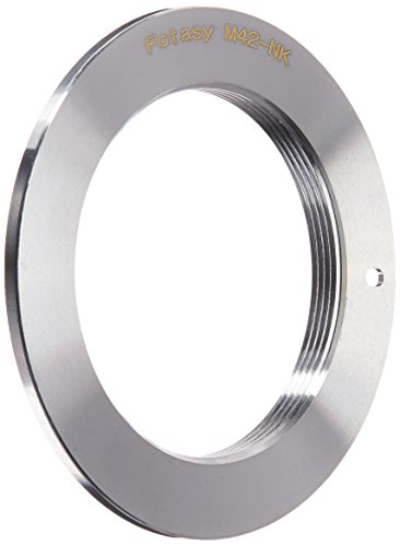 Fotasy NAM42 M42 Lens to Nikon DSLR Camera Adapter Ring