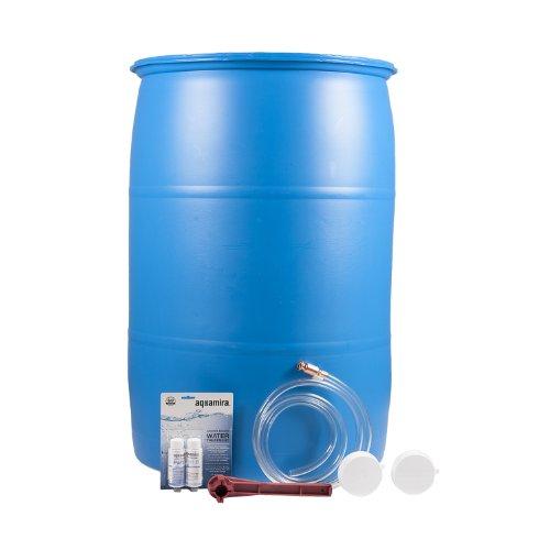 [Emergency Essentials Ultimate 55 Gallon Water Barrel Combo] (55 Gallon Water Barrel)