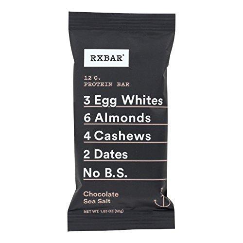 Rxbar Chocolate Sea Salt Protein Bar, 1.83 Ounce - 12 per case.