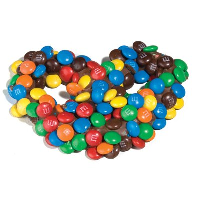 Pretzels Chocolate Asher (Gourmet Pretzels w/ M&M's: 6LB Case)