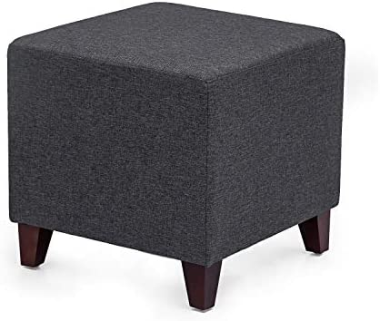 Cheap Edeco Square Ottoman Fabric Foot Stool ottoman chair for sale