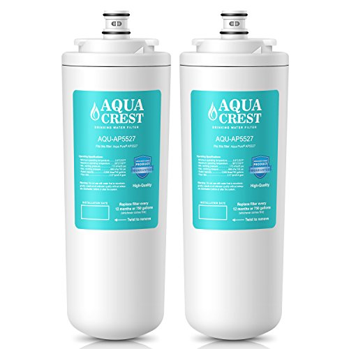 AQUACREST AP5527 Replacement for Aqua-Moral AP5527 5598101 Under Sink Water Filter Set