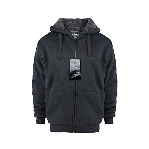 Drawstring Lined Sweatshirt - 2