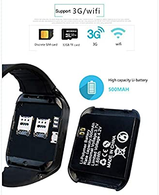 redshooeYY K9 / GW06 Smart Watch 3G Android WiFi Fitness Tracker ...