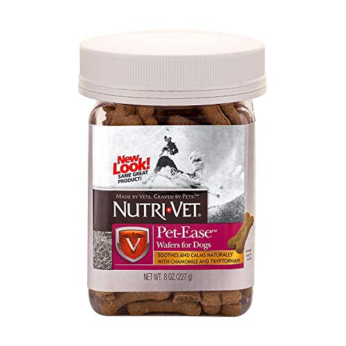 Nutri-Vet Pet-Ease Wafers for Dogs, 8 Ounce