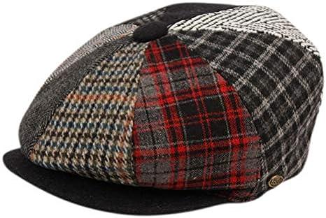 TitFus Herringbone Big Apple Duckbill Ivy Newsboy Irish Tweed Cap Hat