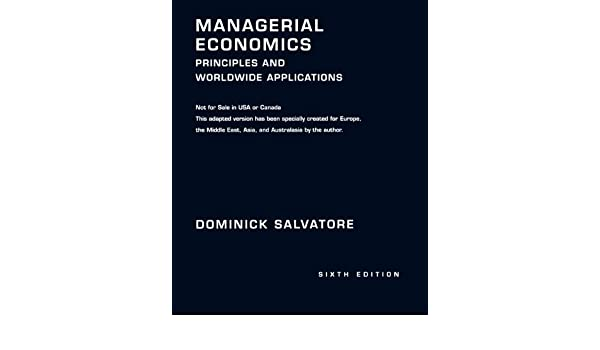Managerial economics principles and worldwide applications managerial economics principles and worldwide applications 9780195326994 economics books amazon fandeluxe Image collections