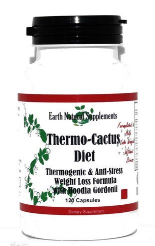 - Thermo-cactus Diet * 120 Capsules Herbal Thermogenic Fat Loss Formula / Hoodia Gordonii Magnolia Barc Green Tea L-Tyrosine Banaba /