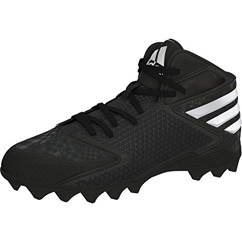 adidas Freak MD Mens Football Cleat (9 D(M) US, Black/Platinum)